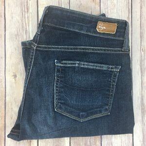Paige Skyline Straight Leg Jeans Sz 29